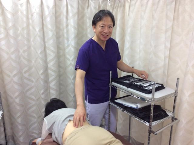 坐骨神経痛の色彩治療