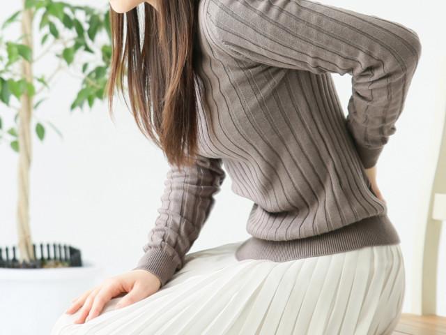腰椎ヘルニアの写真