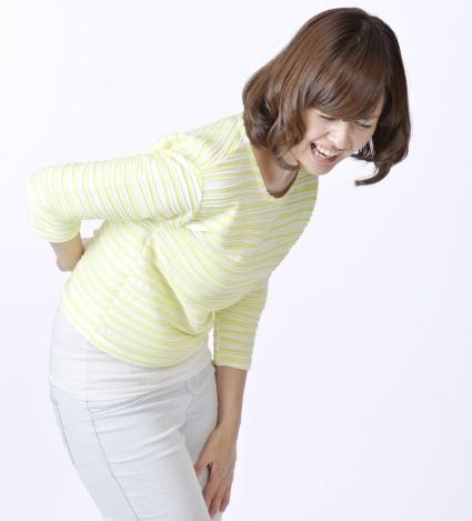 心・精神と腰痛の図